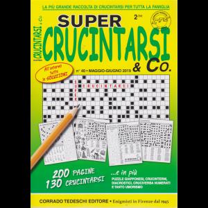 Supercrucintarsi & Co. n. 40 - maggio - giugno 2019 - trimestrale - 200 pagine - 130 crucintarsi