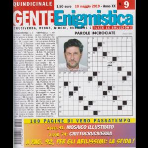 Gente Enigmistica - n. 9 - quindicinale - 10 maggio 2019 - 100 pagine di vero passatempo