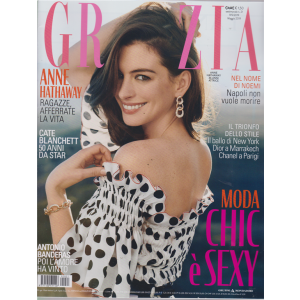 Grazia*- n. 21 - settimanale - maggio 2019 -