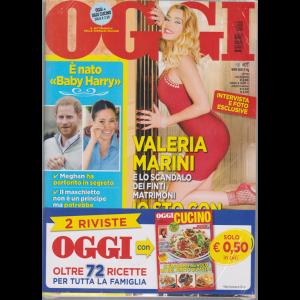 OggI + Oggi cucino - n. 19 - settimanale - 16/5/2019 - 2 riviste