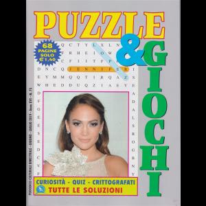 Puzzle  & Giochi - n. 75 - bimestrale - giugno - luglio 2019 - 68 pagine - Jennifer Lopez -