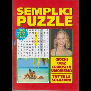 Semplici Puzzle - n. 91 - bimestrale - giugno - luglio 2019 - 100 pagine