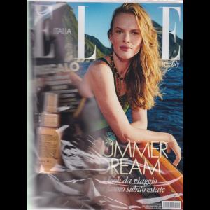 Elle - n. 19 - settimanale - 25/5/2019 + Spray fondente nuxe alta protezione viso e corpo