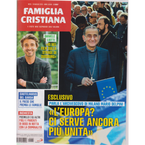Famiglia Cristiana - n. 20 - 19 maggio 2019 - settimanale