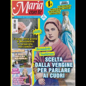 Maria Con Te -n. 20 - 19 maggio 2019 - settimanale
