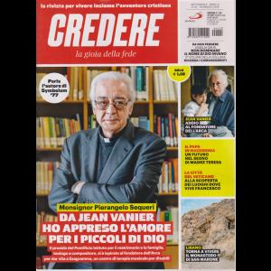 Credere - La Gioia Della Fede - n. 20 - 19 maggio 2019 - settimanale