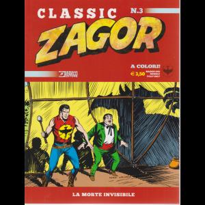 Zagor Classic - La Morte Invisibile - n. 3 - maggio 2019 - mensile - a colori!