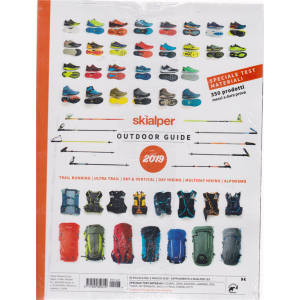 Ski Alper Test - Guida Outdoor 2019 - n. 123 - + Alpine 2019 - 2 riviste