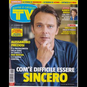 Sorrisi E Canzoni Tv - n. 7 - 19 febbraio 2019 - settimanale