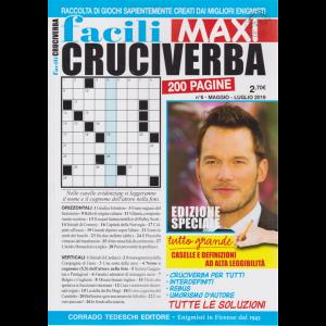 Facili Cruciverba Maxi -  n. 6 - maggio - luglio 2019 - bimestrale - 200 pagine