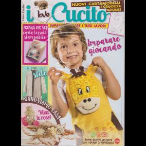 I Love Cucito -n. 6 - bimestrale - giugno - luglio 2019 - 2 riviste