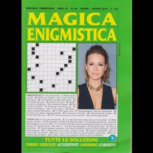 Magica Enigmistica - n. 58 -trimestrale - giugno - agosto 2019 -