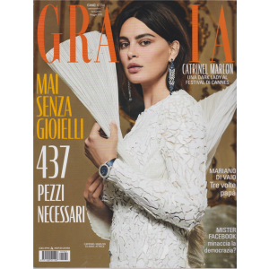 Grazia* - n. 22 - settimanale - maggio 2019 -