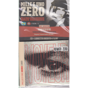 Cd Musicali Di Sorrisi- n. 20 - settimanale - 10/5/2019 - Mille e uno Zero -  Voyeur - cd + libretto -