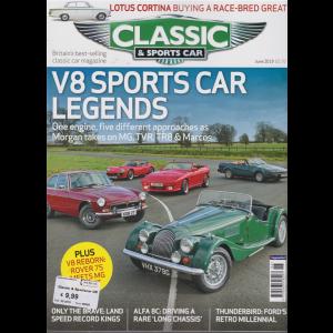 Classic & Sportscar -n. 6 - june 2019 - in lingua inglese