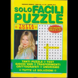 Solo Facili Puzzle - n. 187 - mensile - giugno 2019 - 100 pagine