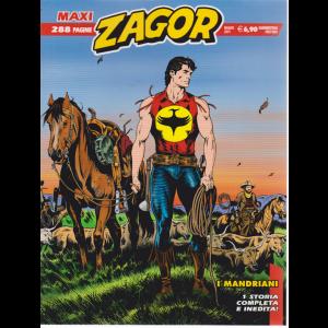 Zagor Maxi - I Mandriani - maggio 2019 - quadrimestrale - 288 pagine