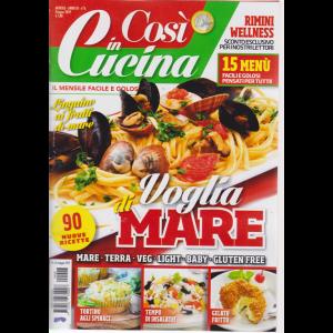 Cosi' In Cucina - n. 6 - mensile - giugno 2019 -