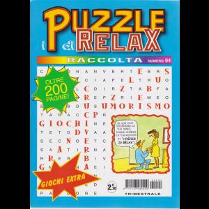 Raccolta i puzzle di relax n. 94 - oltre 200 pagine - trimestrale - maggio - giugno 2019 -