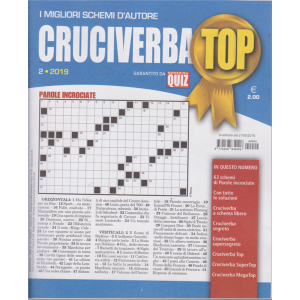 Cruciverba Top - n. 2  - 21/5/2019