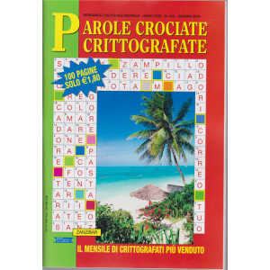 Parole Crociate crittografate - n. 314 - mensile - giugno 2019 - 100 pagine