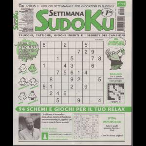 Settimana Sudoku - n. 719 - settimanale - 24 maggio 2019 -