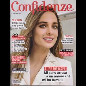 Confidenze - n. 22 - 21 maggio 2019 - settimanale