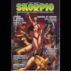 Skorpio - n. 2203 - 23 maggio 2019 - settimanale di fumetti