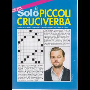 Solo Piccoli Cruciverba - n. 92 - trimestrale - giugno - agosto 2019 - 68 pagine