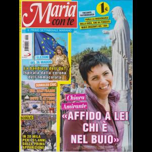 Maria Con Te - n. 21 - 26 maggio 2019 - settimanale