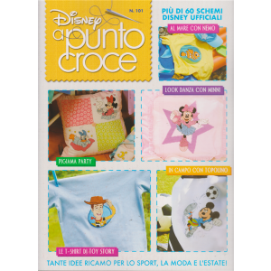 Disney Punto Croce - n. 101 - trimestrale - 25 maggio 2019 -