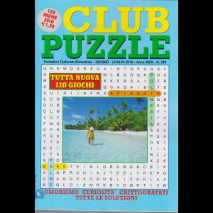 Club Puzzle - n. 270 - bimestrale - giugno - luglio 2019 - 100 pagine - 120 giochi