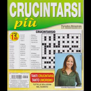 Crucintarsi Piu' -n. 16 - bimestrale - maggio - giugno 2019 -
