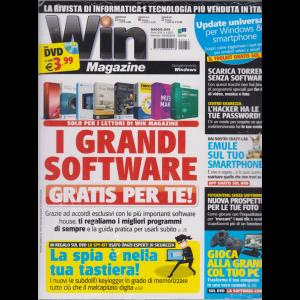 Win magazine - n. 257 - maggio 2019 - mensile - rivista + dvd