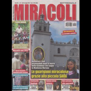 Miracoli - n. 15 - 25 maggio 2019 - settimanale
