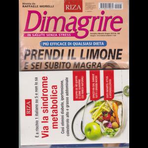 Dimagrire - n. 206 - mensile - giugno 2019 - + il libro Via la sindrome metabolica - rivista + libro