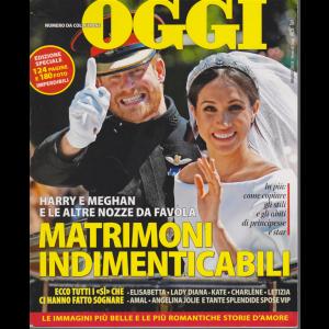 Nomi Di Oggi  - numero da collezione - maggio 2018 - 124 pagine e 180 foto imperdibili