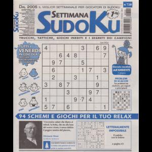 Settimana Sudoku - n. 720 - settimanale - 31 maggio 2019 -