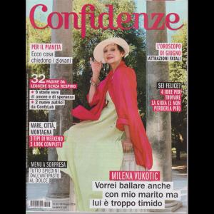 Confidenze - n. 23 - 28 maggio 2019 - settimanale