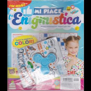 Mi Piace L'enigmistica - Gadget  in regalo - n. 8 - bimestrale - giugno - luglio 2019 -