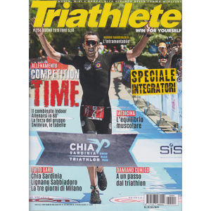 Triathlete - n. 254 - giugno 2019 - bimestrale