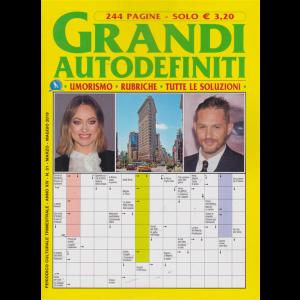 Grandi Autodefiniti - n. 51 - trimestrale - marzo - maggio 2019 - 244 pagine