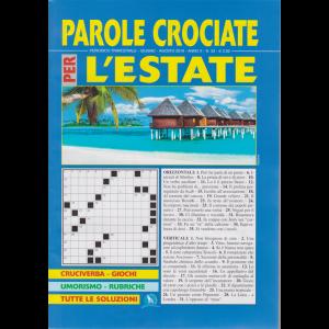 Parole Crociate Per - L'estate - n. 33 - trimestrale - giugno - agosto 2019 -