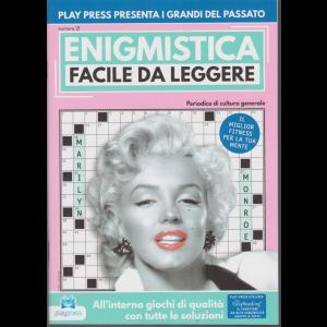 Enigmistica facile da leggere - n. 21 - bimestrale - 28/5/2019 - Marilyn Monroe