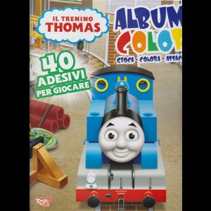 Il trenino Thomas Album color - n. 32 - bimestrale - 16 maggio 2019 -