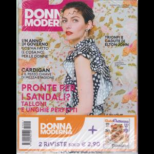 Donna Moderna + Giallo zafferano - n. 24 - 30 maggio 2019 - settimanale - 2 riviste