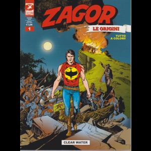 Zagor Gigante - Clear Water - Le origini - n. 1 - giugno 2019 - mensile