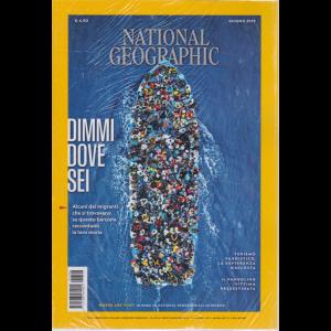 National Geographic - Dimmi Dove Sei - n. 6 - mensile - 1 giugno 2019 -
