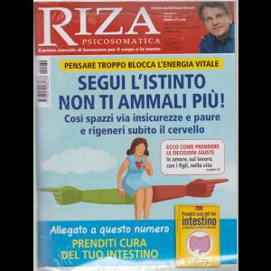 Riza Psicosomatica - n. 460 - mensile - giugno 2019 - + il libro Prenditi cura del tuo intestino - Ti protegge da tutte le malattie - rivista + libro