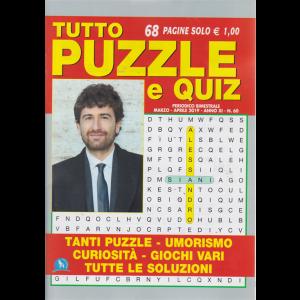 Tutto Puzzle E Quiz - n. 60 - bimestrale - marzo - aprile 2019 - 68 pagine